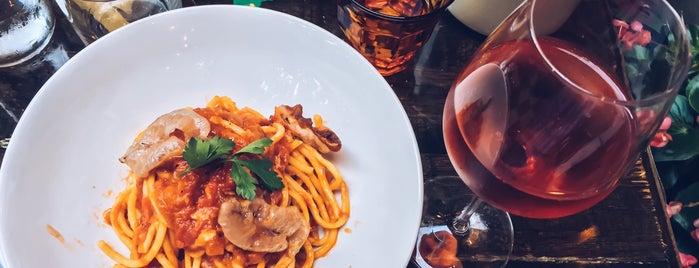 LaRina Pastificio & Vino is one of Carly ❤'s NY.