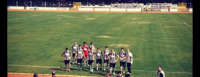 Adnan Menderes Stadyumu is one of Fuat'ın Beğendiği Mekanlar.