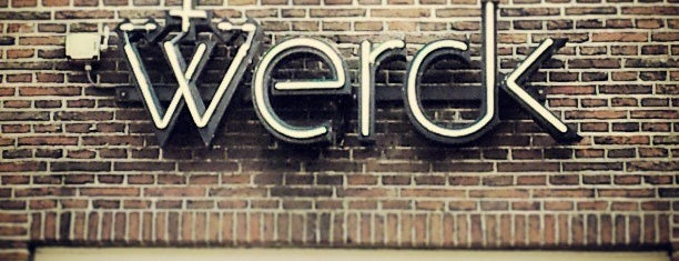 Werck is one of A'dam favourites.