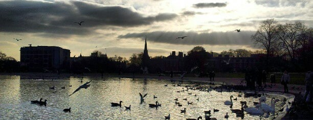 Kensington Gardens is one of London's great locations - Peter's Fav's.