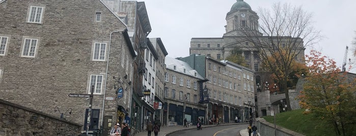 Vieux-Québec is one of Quebec City.