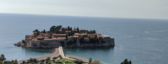 Vidikovac Sveti Stefan is one of Montenegro.