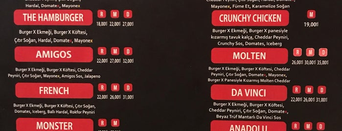 Burger X is one of İstanbul Burger.
