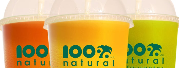 100% Natural is one of Comida :).