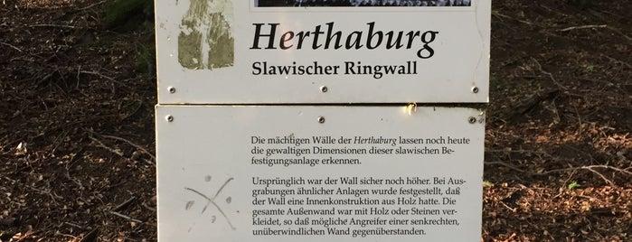 Herthaburg is one of Oostzeekust 🇩🇪.