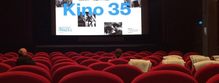 Kino 35 is one of Prague - the second day?.