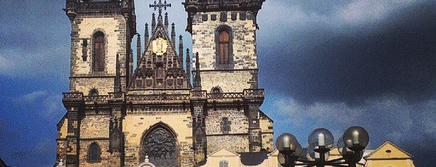 Praga is one of Lugares guardados de Thomas.