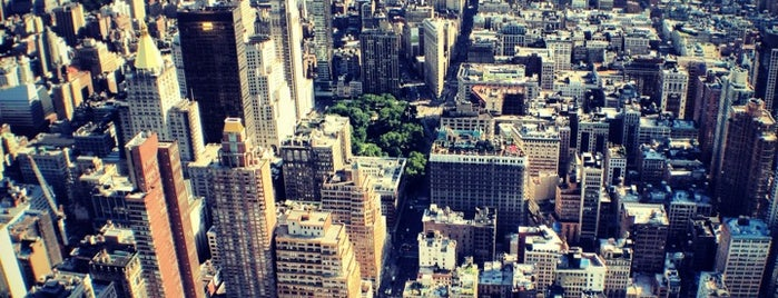 86th Floor Observation Deck is one of The Essential NYU List.