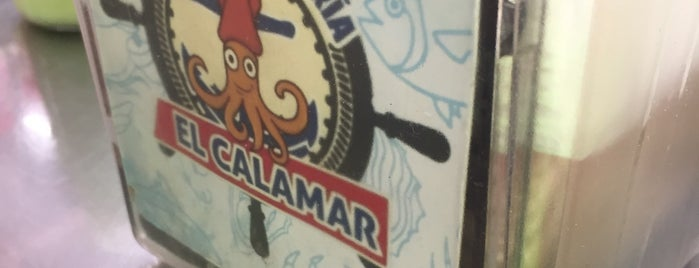 Carrito de Mariscos El Calamar is one of Locais salvos de Di.