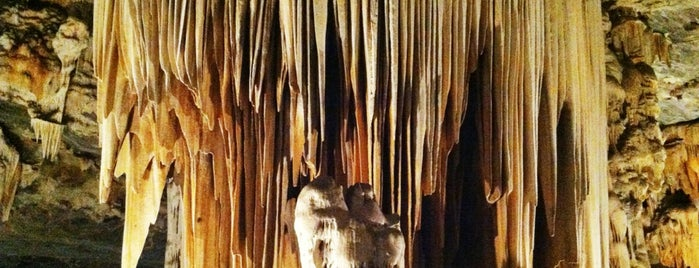 Cango Caves is one of The Garden Route.