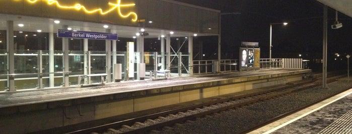 Metrostation Berkel Westpolder is one of RET's Saved Places.