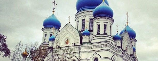 Николо-Перервинская обитель is one of Православные монастыри и подворья в Москве.