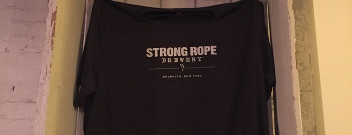 Strong Rope Brewery is one of Brooklyn To-Try.