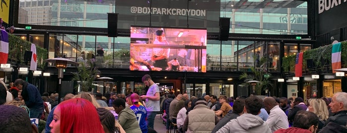 BOXPARK Croydon is one of Paulさんのお気に入りスポット.