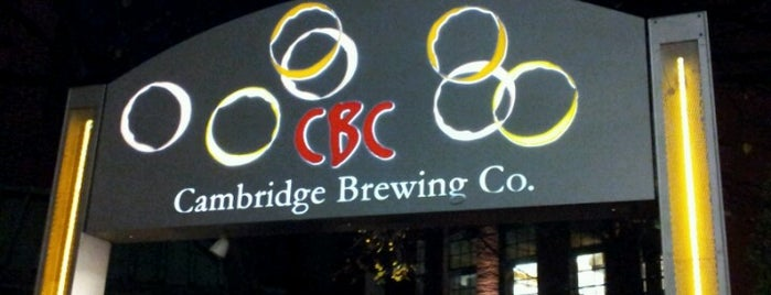Cambridge Brewing Company is one of Restaurants.