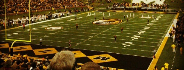 Faurot Field at Memorial Stadium is one of FBS Stadiums.