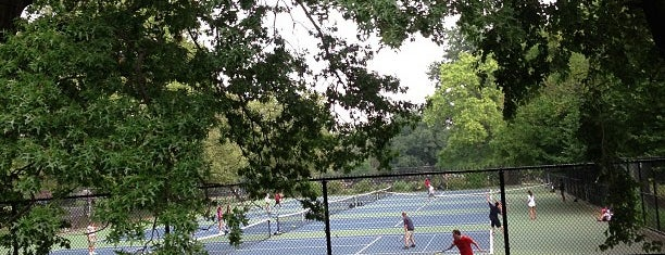 Fort Greene Park Tennis Courts is one of places to return (numero quattro).