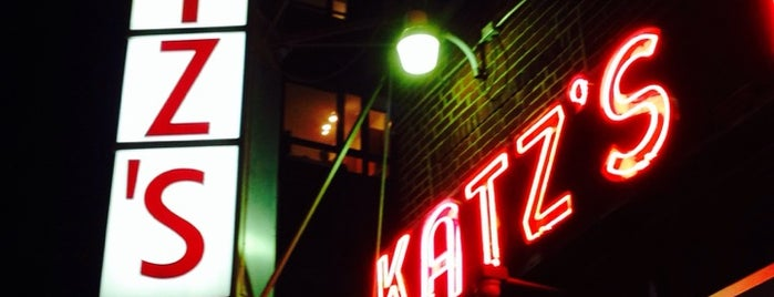 Katz's Delicatessen is one of New York City Classics.