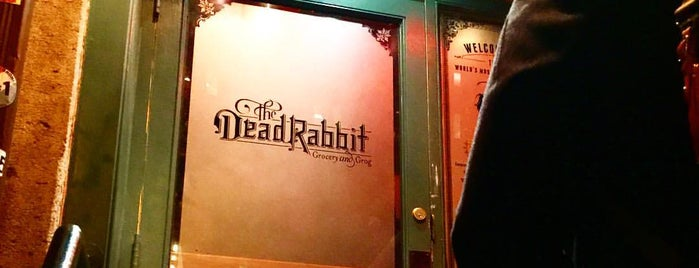 The Dead Rabbit is one of 🇺🇸 New York Eating.