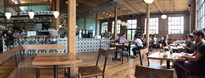 Frothy Monkey is one of Good Places to Work From in Nashville.