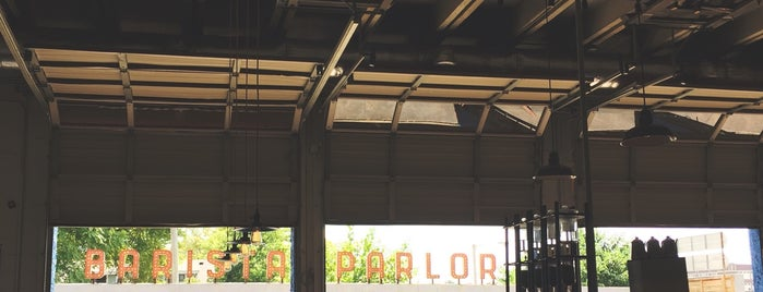 Barista Parlor is one of For Nashville Visitors.