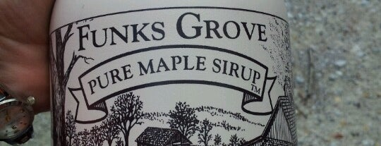 Funks Grove Maple Syrup Shack is one of Route 66 Roadtrip.