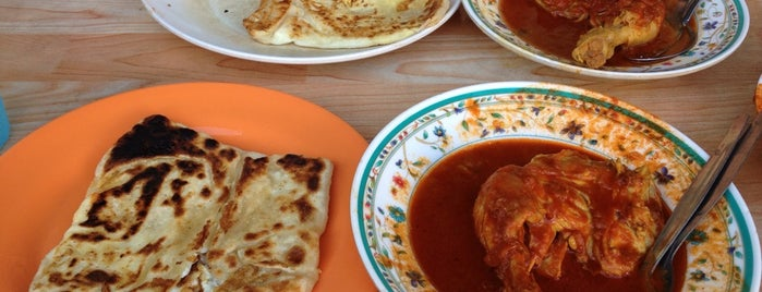 Roti Canai Transfer Rd. is one of Penang.