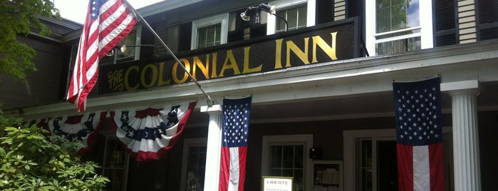 Colonial Inn is one of Revolutionary War Trip.
