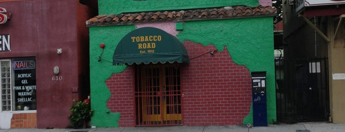 Tobacco Road is one of Lugares favoritos de IrmaZandl.