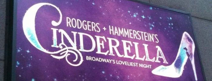 Cinderella on Broadway is one of No sleep til Brooklyn.