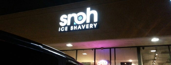 SNOH Ice Shavery is one of Food & Drink.