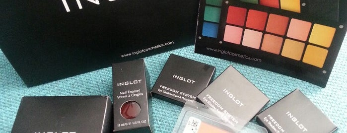 Inglot Cosmetics is one of vegas.