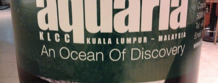 Aquaria KLCC is one of Attraction Places to Visit.