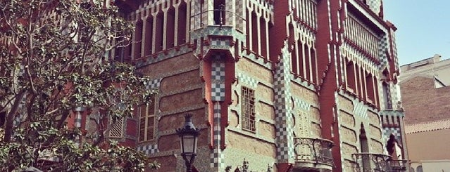 Casa Vicens is one of Architecture.