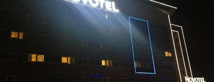 Novotel Kayseri is one of Locais curtidos por Sevket.