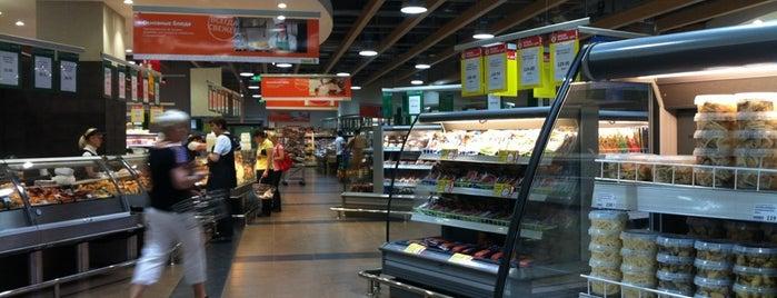 Продуктовый Гипермаркет Семья is one of Natal'ya'ın Beğendiği Mekanlar.