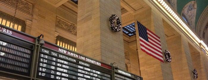 グランドセントラル駅 is one of NYC Visitor Recommendations.