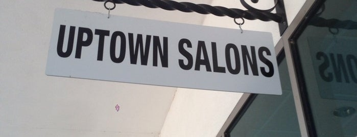 Uptown salons is one of eva's Liked Places.