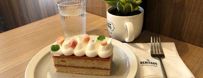 Heritage Bakery & Cafe is one of taipei cinnamon rolls..