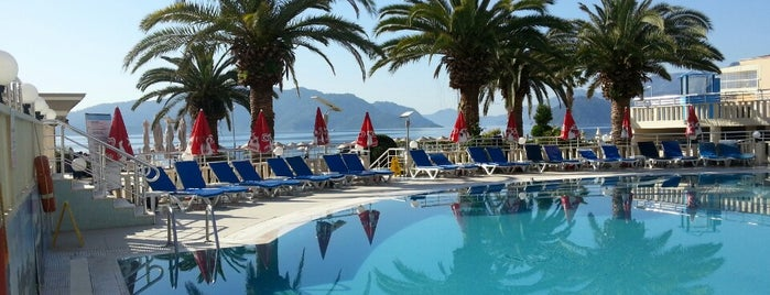 Noa Hotels Club Nergis Beach is one of Otel.