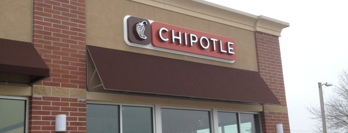 Chipotle Mexican Grill is one of Great Ames Food.