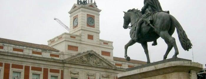Estatua de Carlos III is one of Madrid city guide.