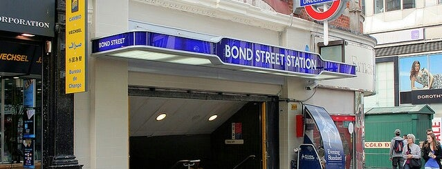 Bond Street London Underground Station is one of London1.