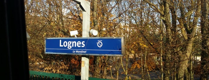 RER Lognes [A] is one of Went before.