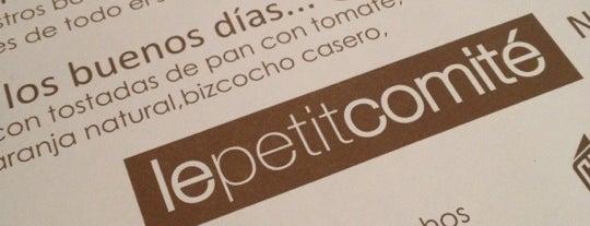 Le Petit Comité is one of En busca de la hamburguesa perfecta.