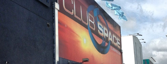 Club Space is one of Miami.