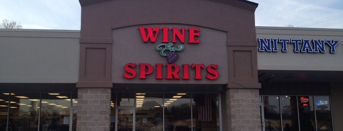 PA Wine & Spirits is one of York College Student Hotspots.