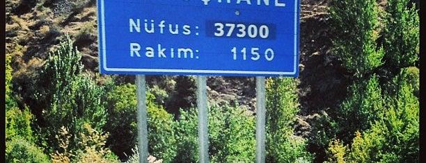 Gümüşhane is one of Recep'in Beğendiği Mekanlar.