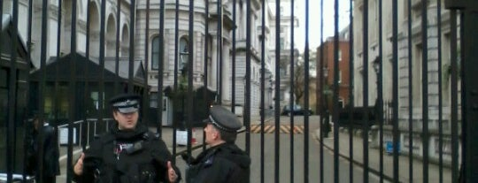 10 Downing Street is one of UK.