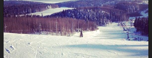 Горнолыжный спортивно-оздоровительный комплекс «Логойск» is one of Locais salvos de Alik.